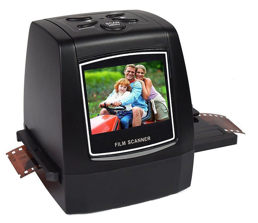 "High Fast Photo Printe Resolution Photo Scanner 35mm/135mm Slide Film Scanner Digital USB Film Converter 2.36"" LCD screen"