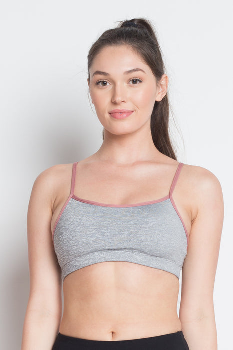 Crisscross Strap Back Sports Bra