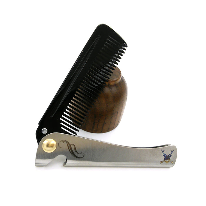 Stainless Steel Folding Comb Hair Comb Beard Comb Health Care Comb Hair & Beard Comb