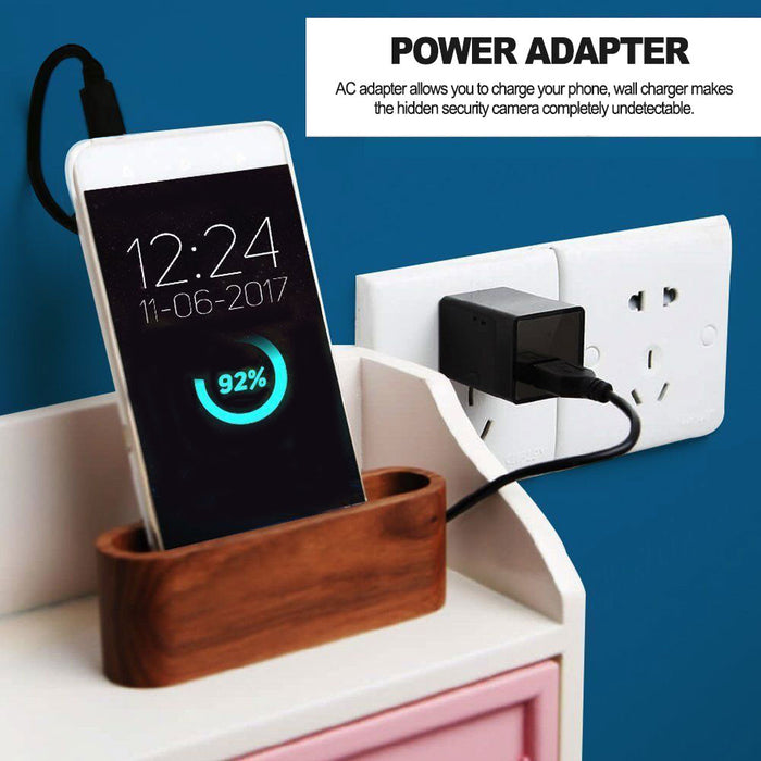 USB Wall Charger  - Hidden Camera