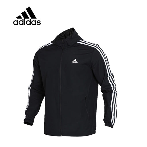 Original  Adidas WB MESH BOND 3S Men's Running Jacket New Arrival Authentic Sportswear Male Coat Windbreaker Breathable Leisure