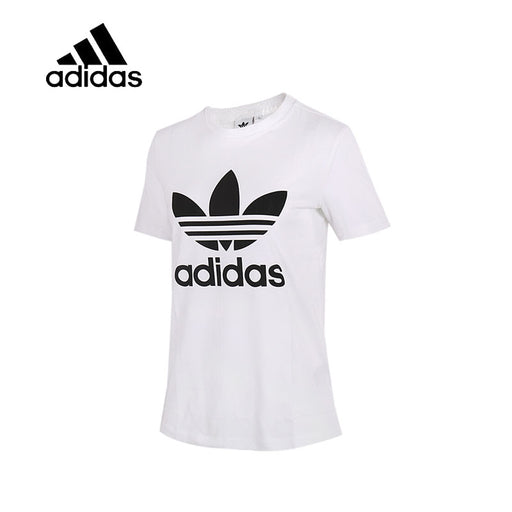 Original Adidas Women's T-shirts Short Sleeve Female Leisure New Arrival Authentic Sportswear Breathable Quick Dry Shirt