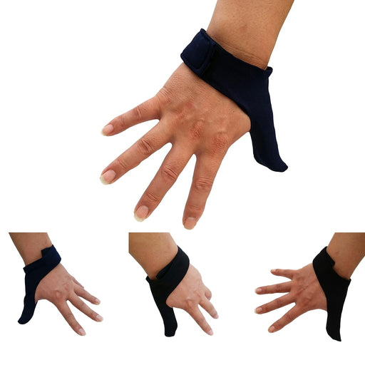 Adjustable Stretch Bowling Thumb Saver - Bowling Ball Sports Finger Grip Gear Protective Glove - One Size Fits Right & Left Hand