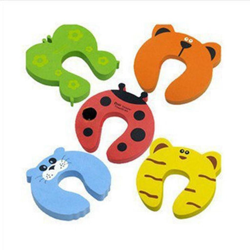 Baby Anti-pinch Hands Door Stopper Color Random