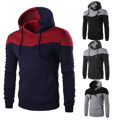 Men Winter Slim Hoodie Warm Hooded Sweatshirt Coat Jacket Outwear Sweater