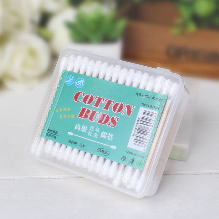 Double Tipped Cotton Swabs Applicator Multipurpose Cotton Buds Swab for Beauty Makeup Cleaning Remover