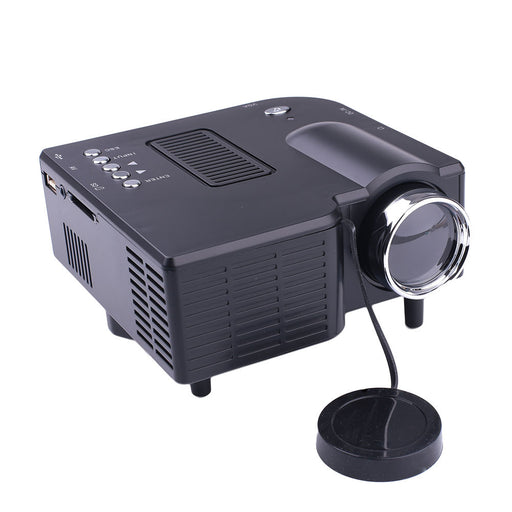 Home Multimedia Projector LED Projector Premium Courtyard Business Mini Projector HDMI/VGA/SD/AV Port 1920*1080 Office School