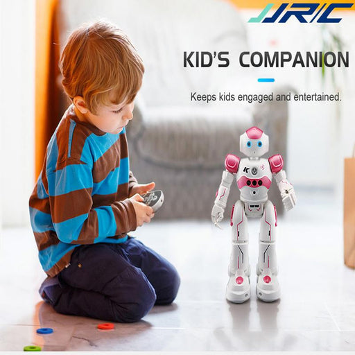 JJRC R2 USB Charging Dancing Gesture Control RC Robot Toy for Children Kids Birthday Gift