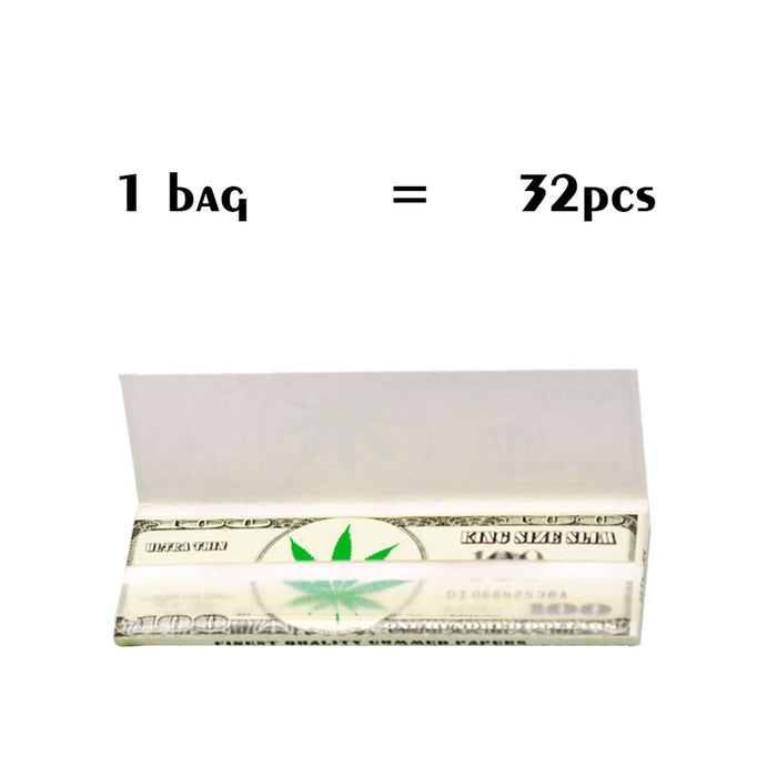 32 pcs Premium Rolling Paper Smoking Accessories