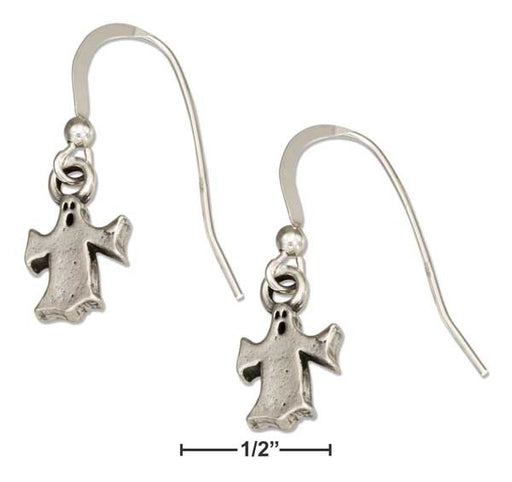 Sterling Silver Halloween Ghost Earrings