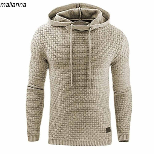 Casual Hoodies Brand Men Solid Color Hooded Sweatshirt Male Hoody Hip Hop Autumn Winter Hoodie Mens Pullover Plus Size 4XL