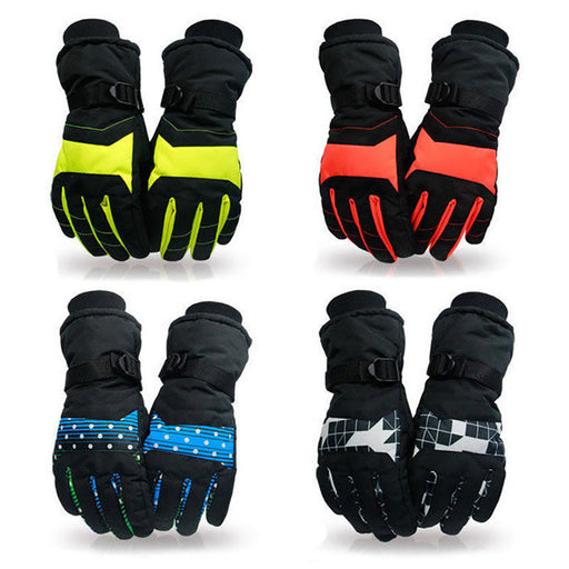 Thermal Insulated Winter Snow Outdoor Sports Men Women Skiing Snowboard Gloves