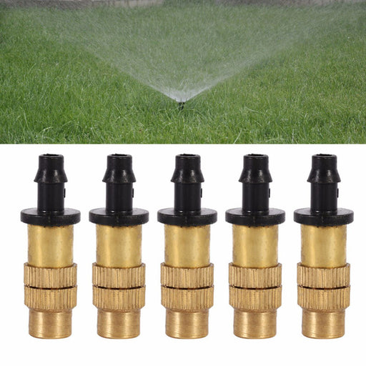 Adjustable Misting Nozzle Gardening Watering Brass Spray Sprinkler Sprayer