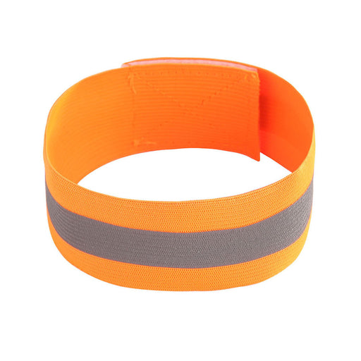 Durable Safety Reflective Belt Strap Snap Arm Band Sports Running Armband Gift