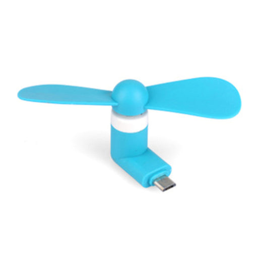 Portable Super Mute USB Cooler Cooling Mini Mobile Phone Fan Random Color Style 1 for Android