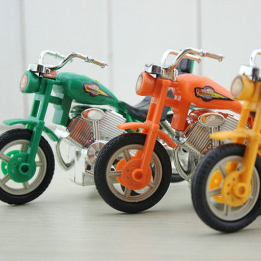 Children 's Educational Toys Back To The Motorcycle New Strange Toy Car Creative Small Toys  Sport Bike Kids Gift Motorbike Toy