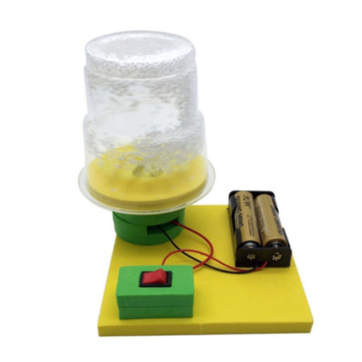 Kids Science Experiment Kits Electric Electrostatic Snow Model DIY Assembly Toy Educational Toy