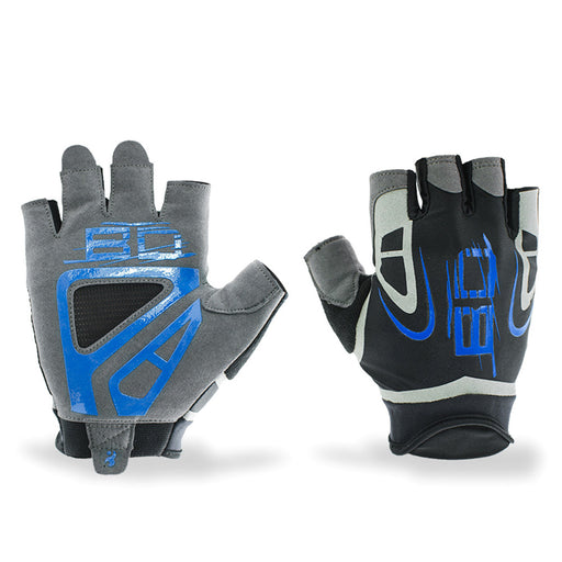 New Style Fingerless Workout Cycling Half Finger Mountain Bike Anti-slip Biking Gloves for Men or Women to Sport,Hike,Biking,Exercise,Power Training