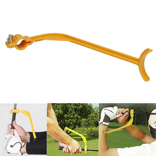 Golf Swing Trainer Beginner Gesture Alignment Correct Wrist Training Aid Tools