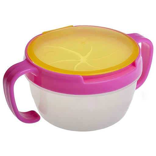 1Pc Baby Toddler Feeding Bowl Snack Food Keeper Pod Container Cup Drink Traveling