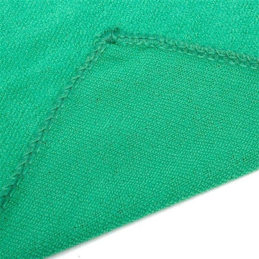 5Pcs Soft Cloths Car Wash Towel Auto Detailing Cleaning Duster Green Microfiber