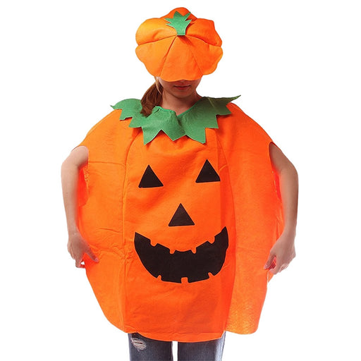 Pumpkin Halloween Adult Outfit Clothes Halloween Costume Set of Suit & Hat