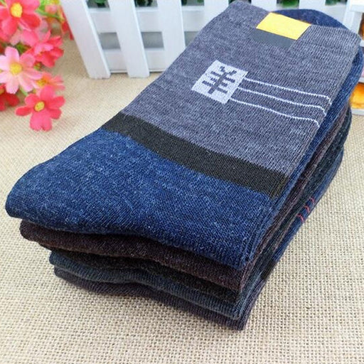 1 Pair Men s thick wool socks new winter wool socks