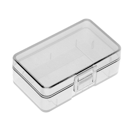 Storage Box Battery Case Holder Plastic Transparent Cover Case for Single 9V Battery