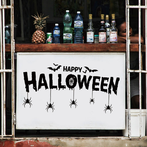 2018 Halloween Wall Stickers Room Window Halloween Decoration