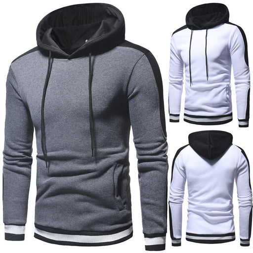 Men Hoodies 2018 Fashion Slim Sweatshirt Casual Long Sleeve Pullover