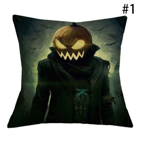 Halloween Throw Cushion Cover