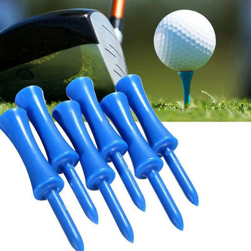 68mm Golf Spike Round Ball Nail Plastic Ball Needle Golf Tee Limit Ball Care