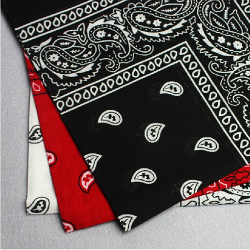 Cotton Paisley Bandana Head Wear Bands Scarf Neck Band Wrist Wrap