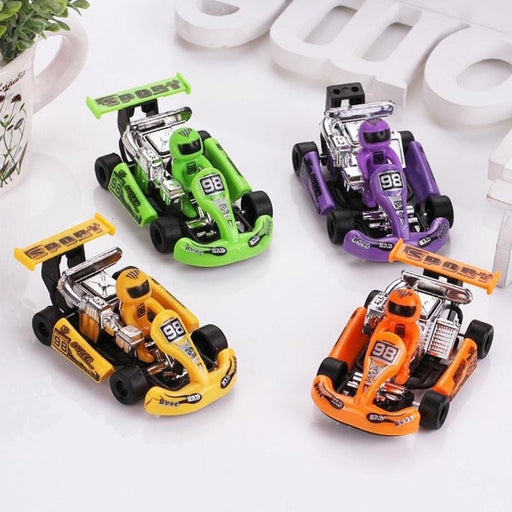 New Pullback Racing Karting Childrens Educational Toys Gifts For Children