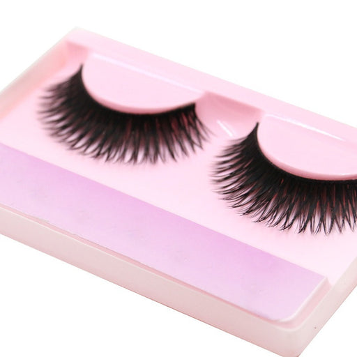Women False Black Curling Thicker Longer Eyelash With Box Makeup Cosmetic Beauty Tools