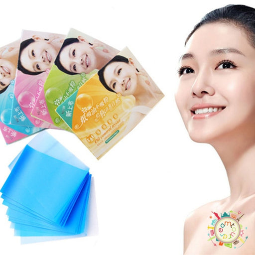 New Skin Care Facial Oil Control Blotting Papers Absorption Tissue 2Packs/100pcs