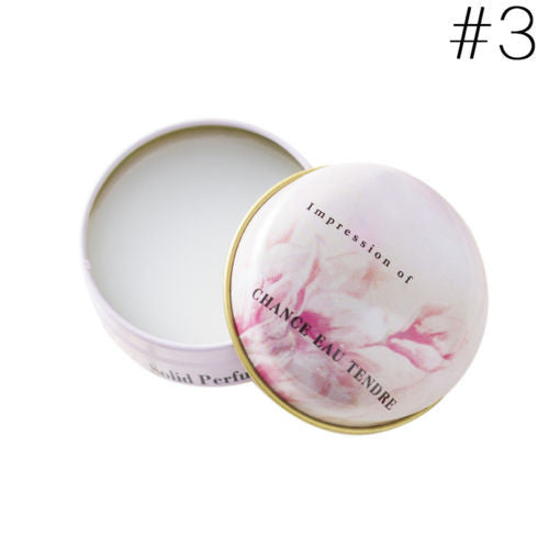 Romantic Lady Solid Fragrance Charming Love Perfumes  Fragrance Cream For Women Body