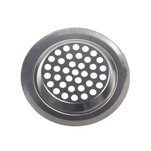 Stainless Steel Mesh Sink Strainer Kitchen Bath Hair Catcher Trap Drain Filter
