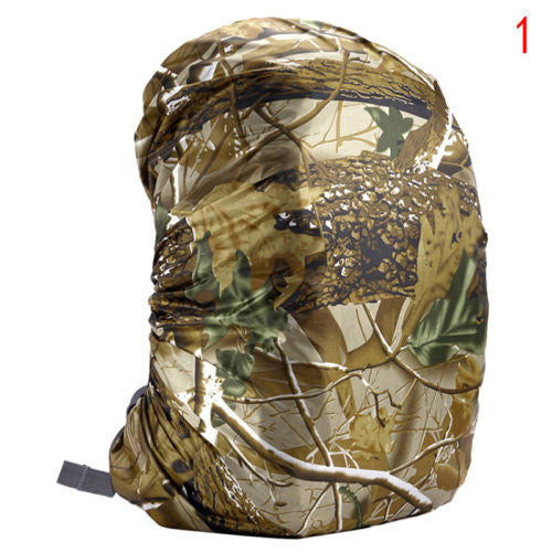Large Size Camouflage Wear resistant Backpack Rain Waterproof Cover  Camping Backpack Protection Cover