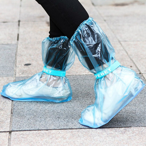 Outdoor Tourism Thickening Waterproof Rain Boots Wear Resistant Non Slip  Rain Boots