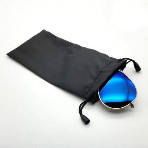 Ski Goggle Protection Bag Glasses Nylon Storage Bag Scratch resistant(color random)