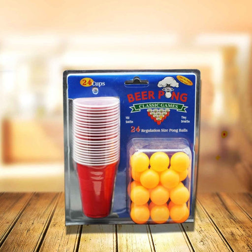 Double bubble shell 24 beer ping-pong game cup bar game
