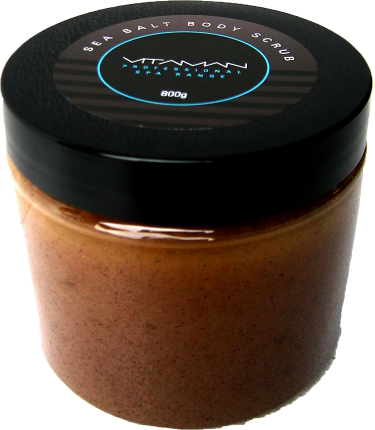 Sea Salt Body Scrub 800g - Professional Only