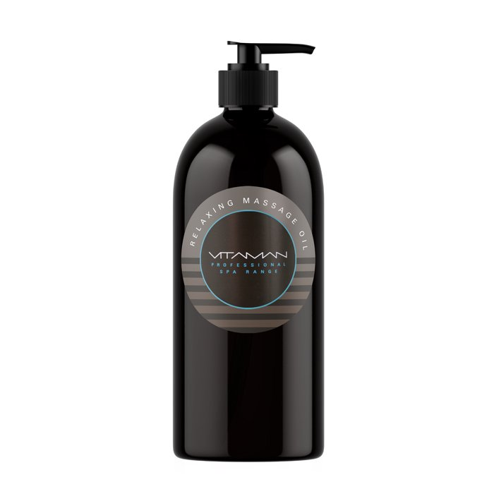 Relaxing Massage Oil 500ml - Professional Only