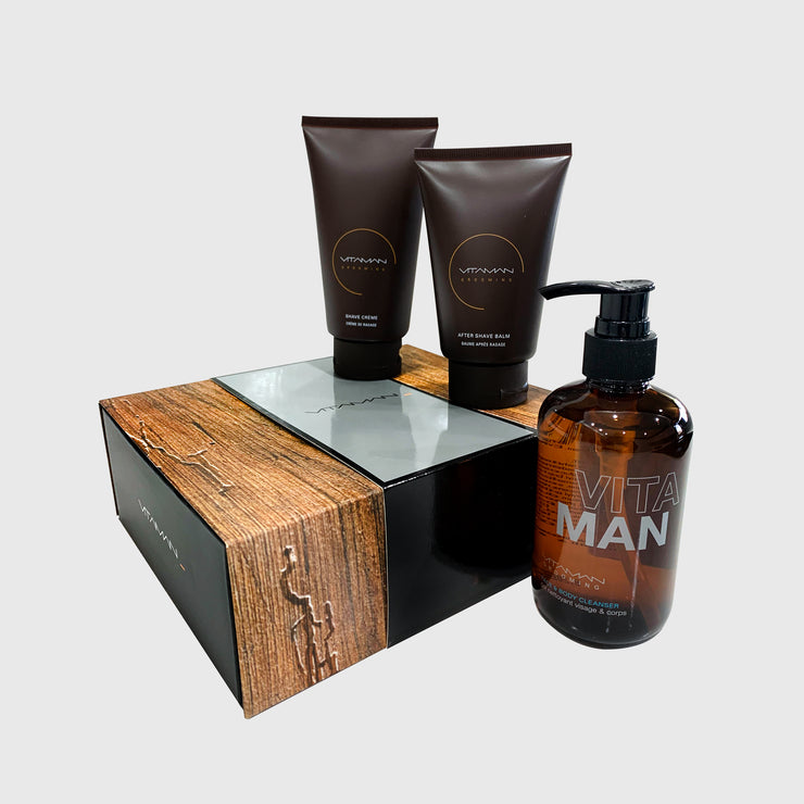 Barber Quality Shave Kit
