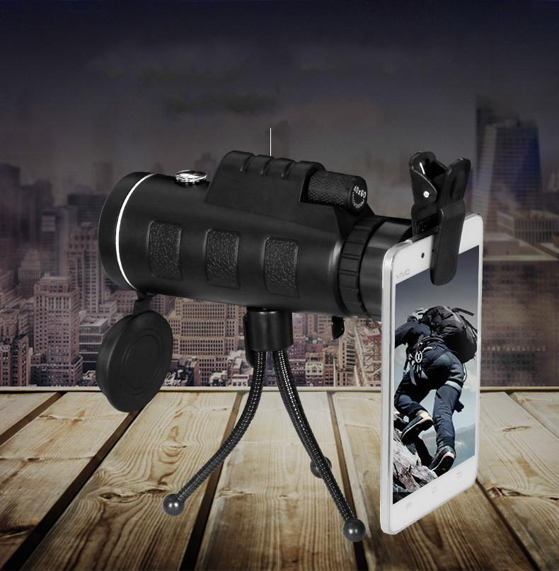 40X60 Zoom Monocular Telescope for Smartphones