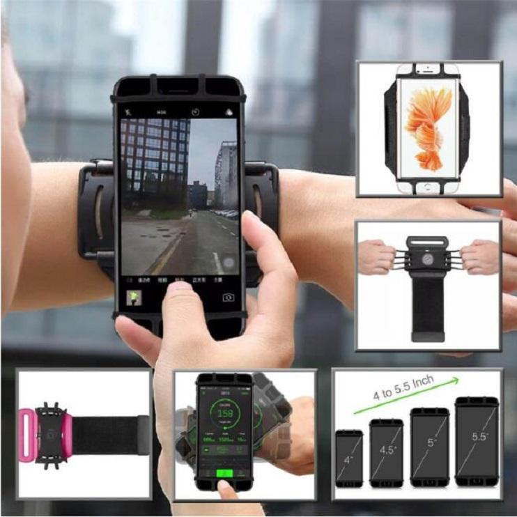 (Big Discount!) 180 Degree Portable Sports Armband Phone Dock