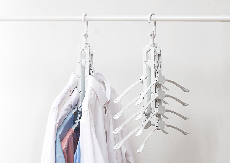 Closet Space Saving Multifunctional Anti-skid Wardrobe Clothing Magic Hanger Oragnizer Hangers