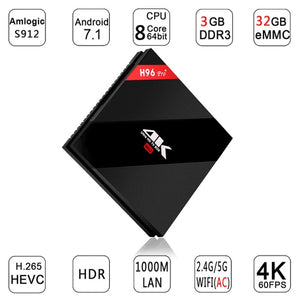 Global Free Shipping—H96 Pro TV Box Mini PC 3GB / 32GB