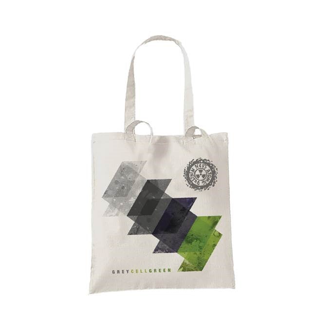 Grey Cell Green Tote Bag